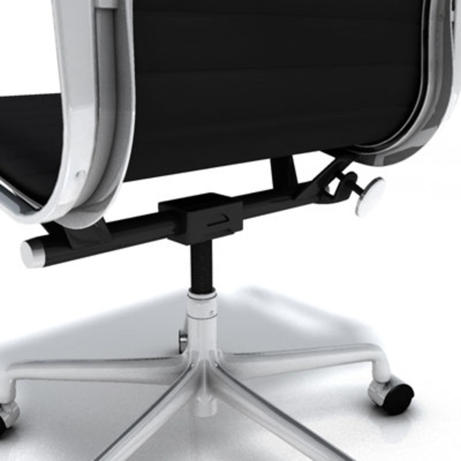 Eames Managment Chair royalty-free 3d model - Preview no. 5