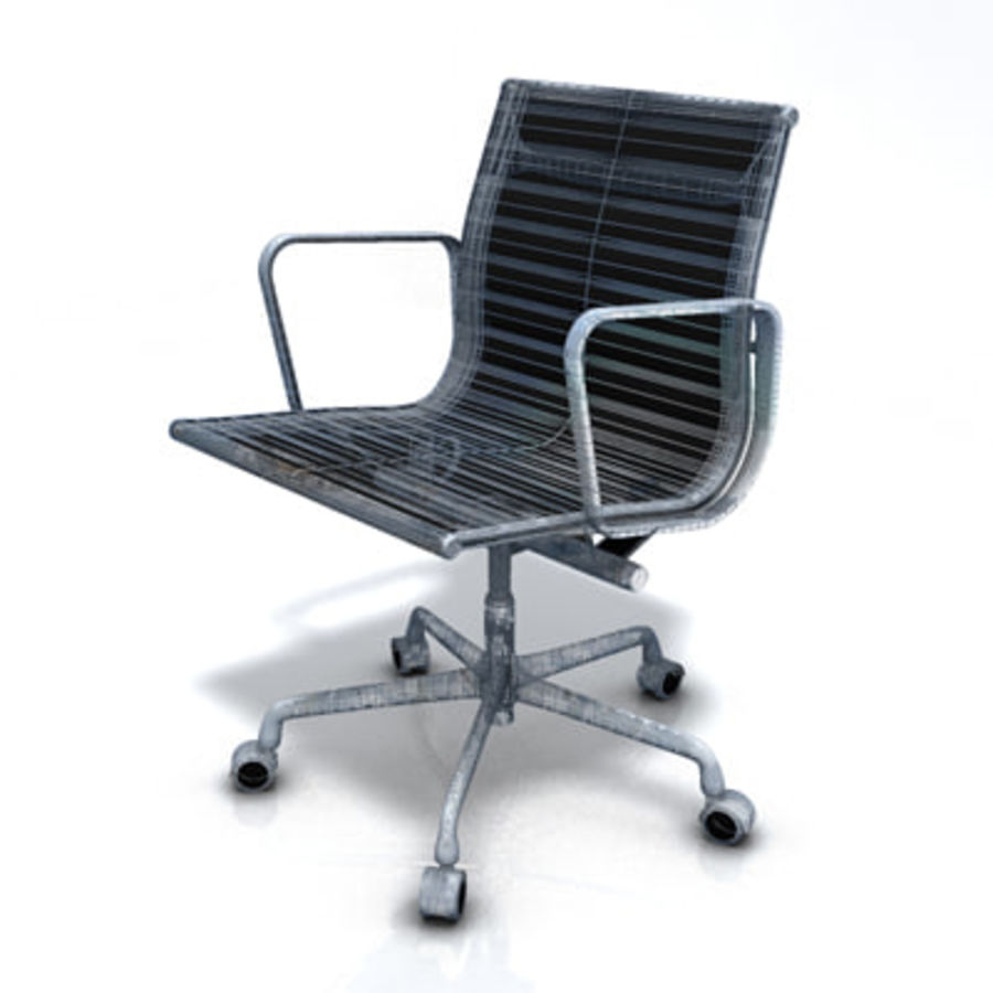 Eames Managment Chair royalty-free 3d model - Preview no. 7