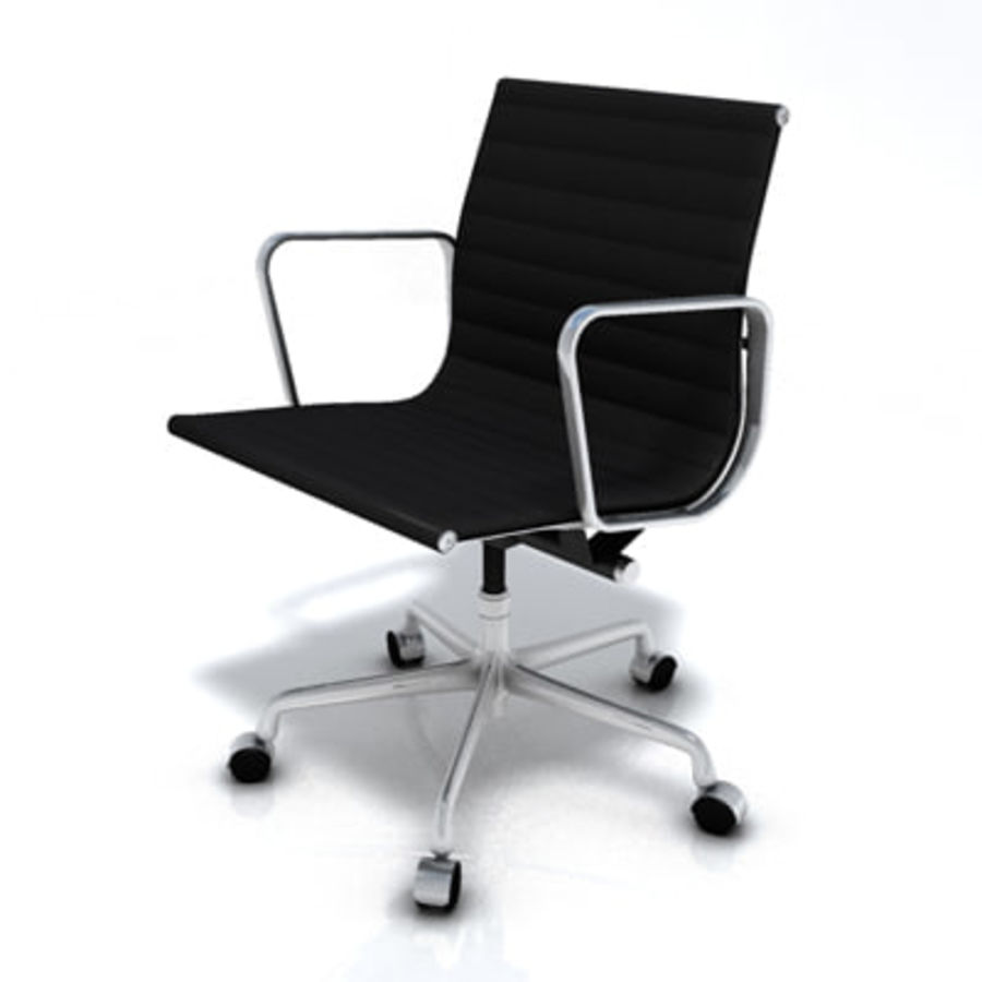 Eames Managment Chair royalty-free 3d model - Preview no. 8