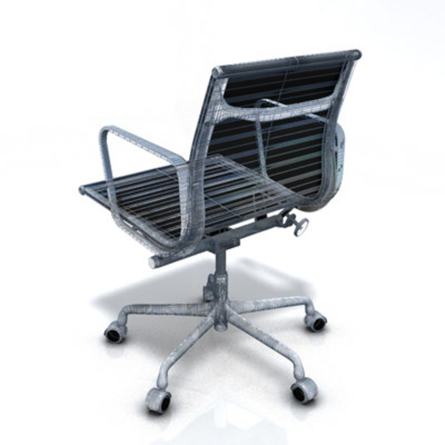 Eames Managment Chair royalty-free 3d model - Preview no. 9