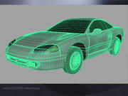 Dodge_Stealth 3d model