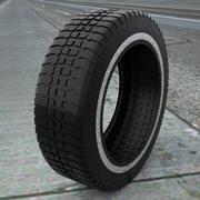 Tire Treads V7 3d model