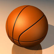 Ballon de basket 3d model