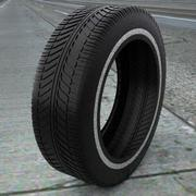 Tire Treads V8 3d model