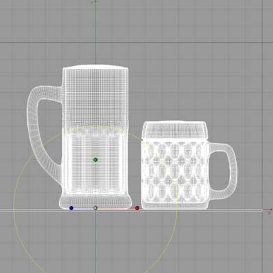 BEER royalty-free 3d model - Preview no. 2