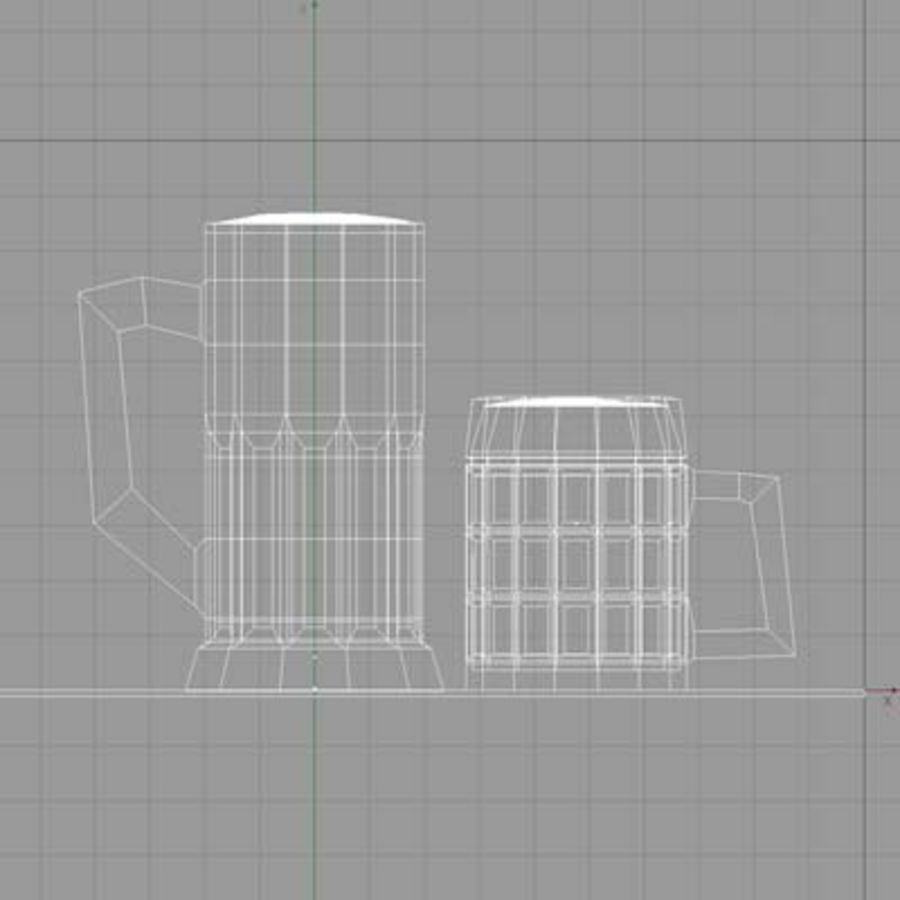 BEER royalty-free 3d model - Preview no. 3