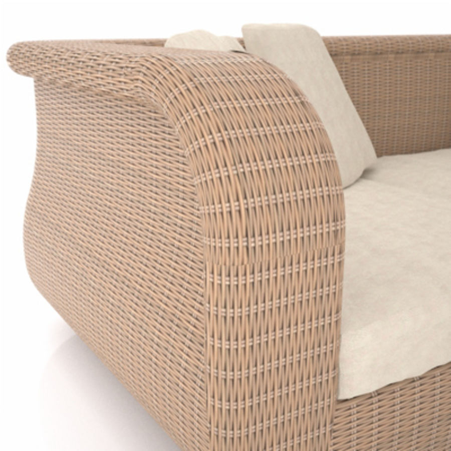 Rotting soffa royalty-free 3d model - Preview no. 4