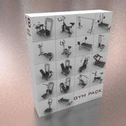 Gym apparatuur 3d model
