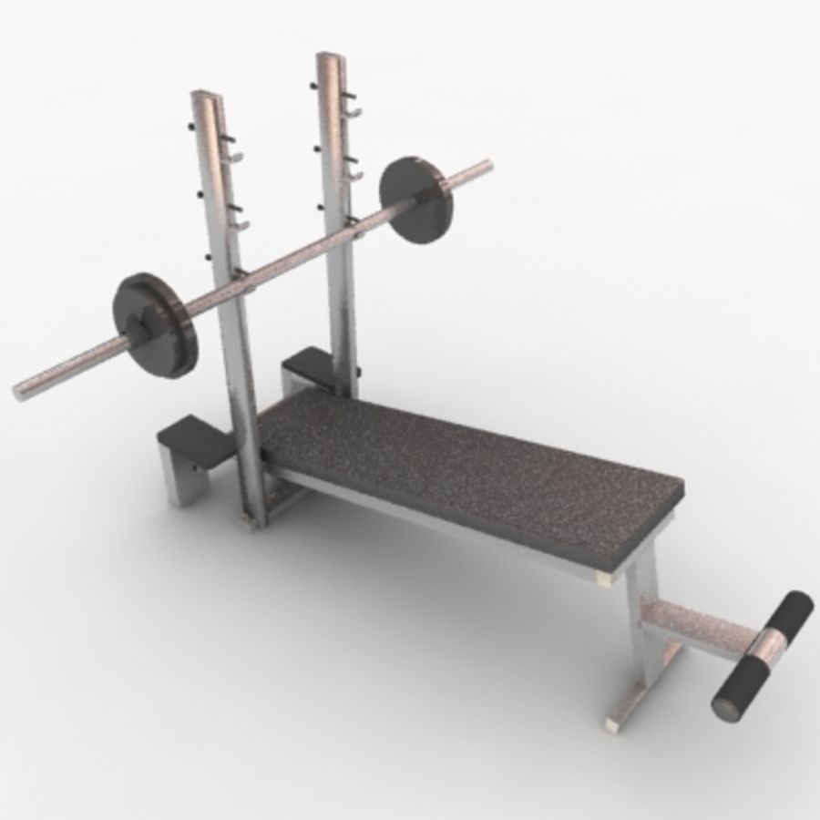 Fitnessgeräte royalty-free 3d model - Preview no. 5