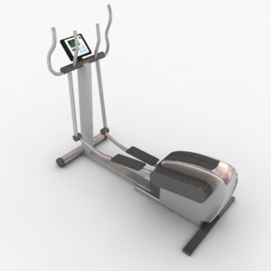 Fitnessgeräte royalty-free 3d model - Preview no. 6