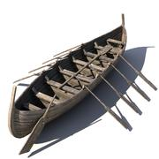 vikingboat1 3d model