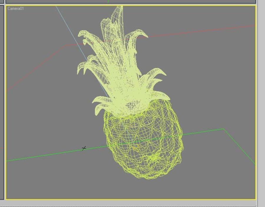 Piña royalty-free modelo 3d - Preview no. 7