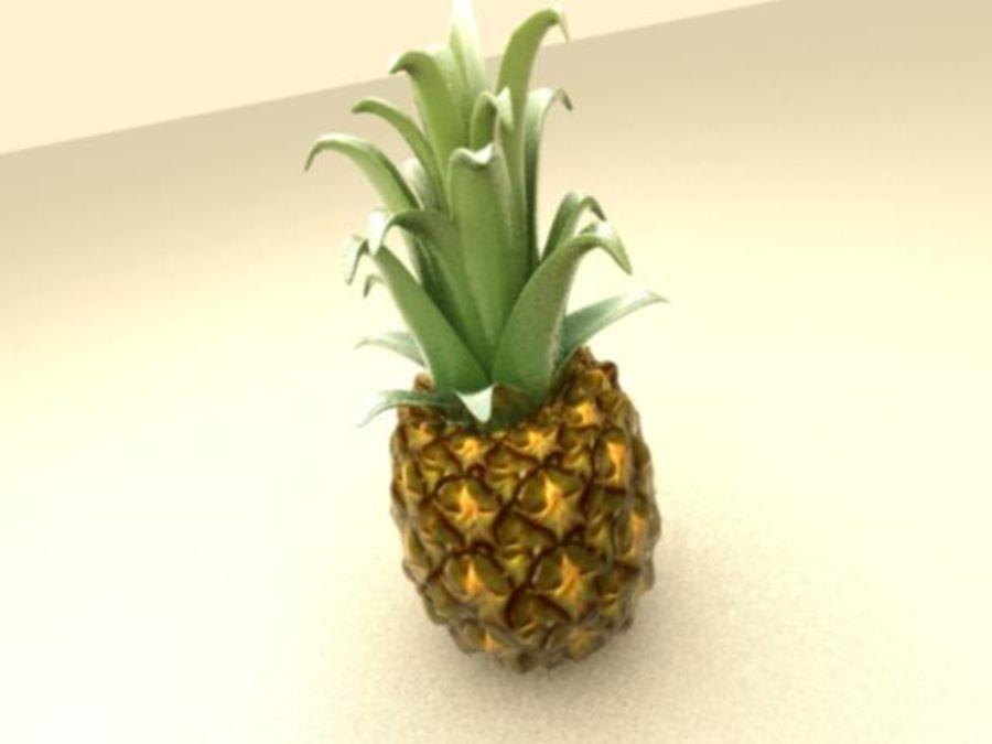 Piña royalty-free modelo 3d - Preview no. 4