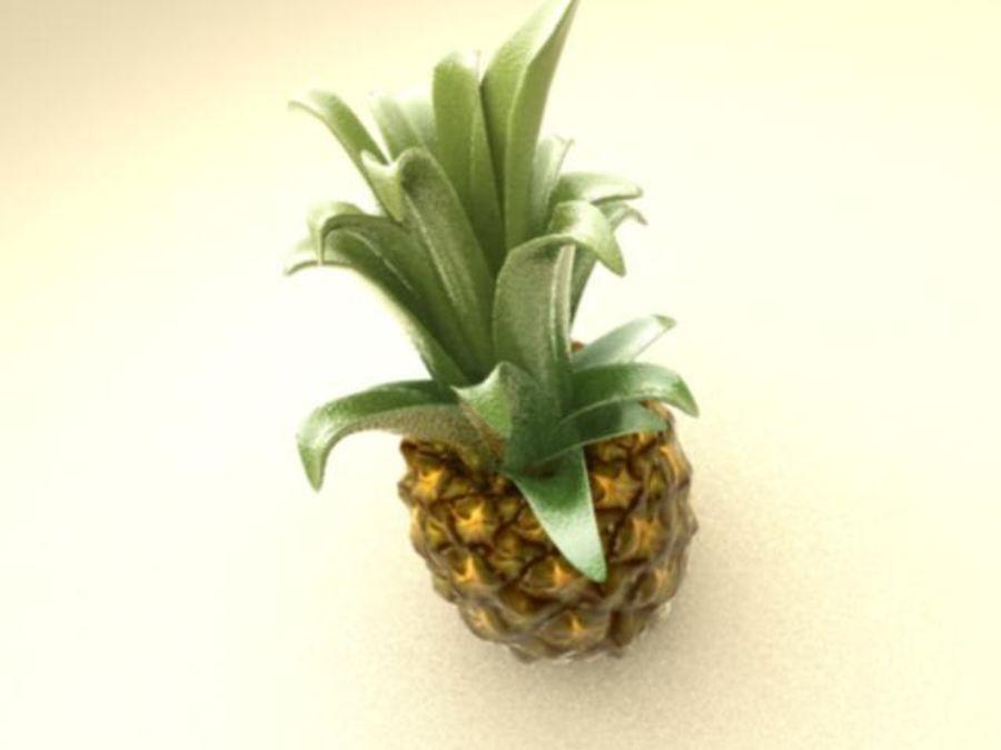 Piña royalty-free modelo 3d - Preview no. 1