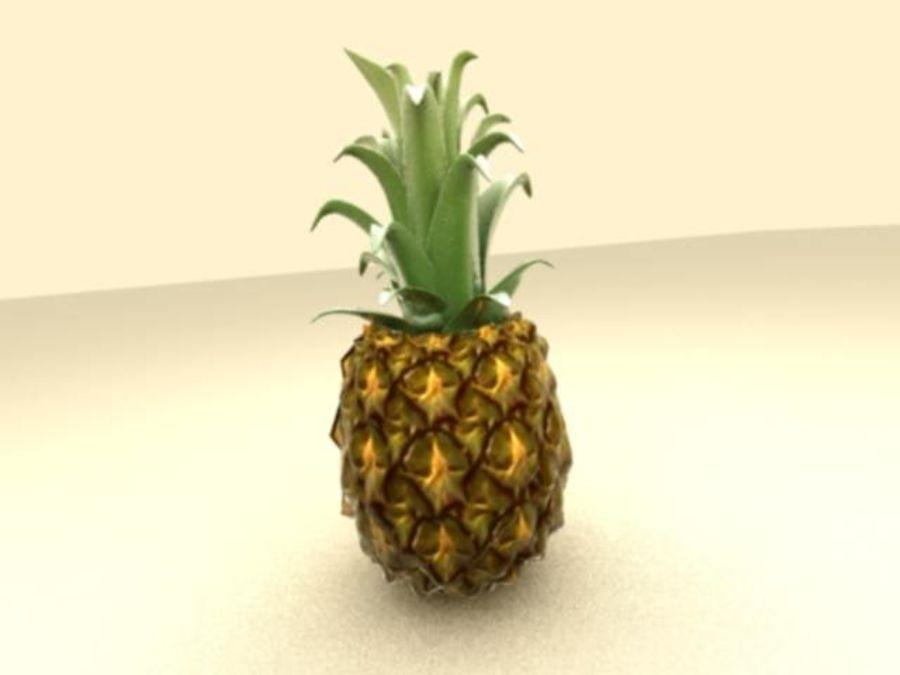 Piña royalty-free modelo 3d - Preview no. 2