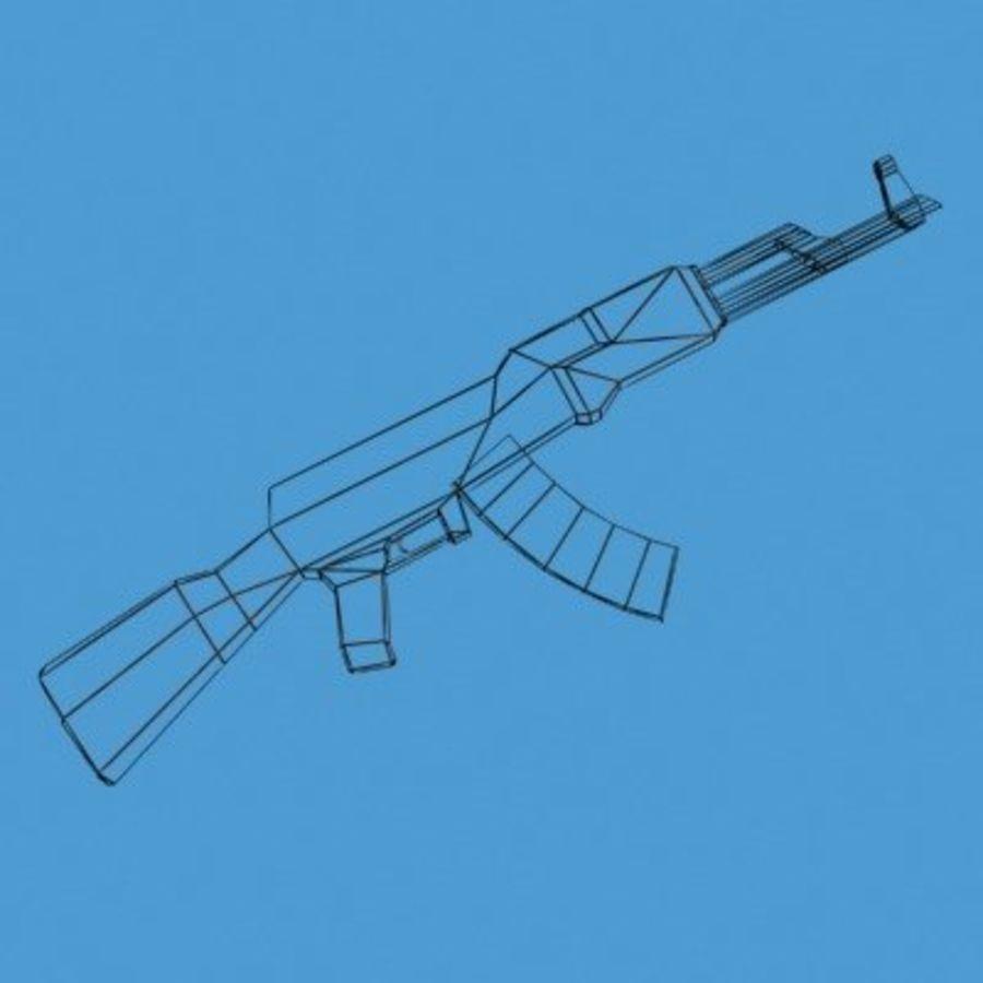 AK47-Kalashnikov_Multi.zip royalty-free 3d model - Preview no. 6