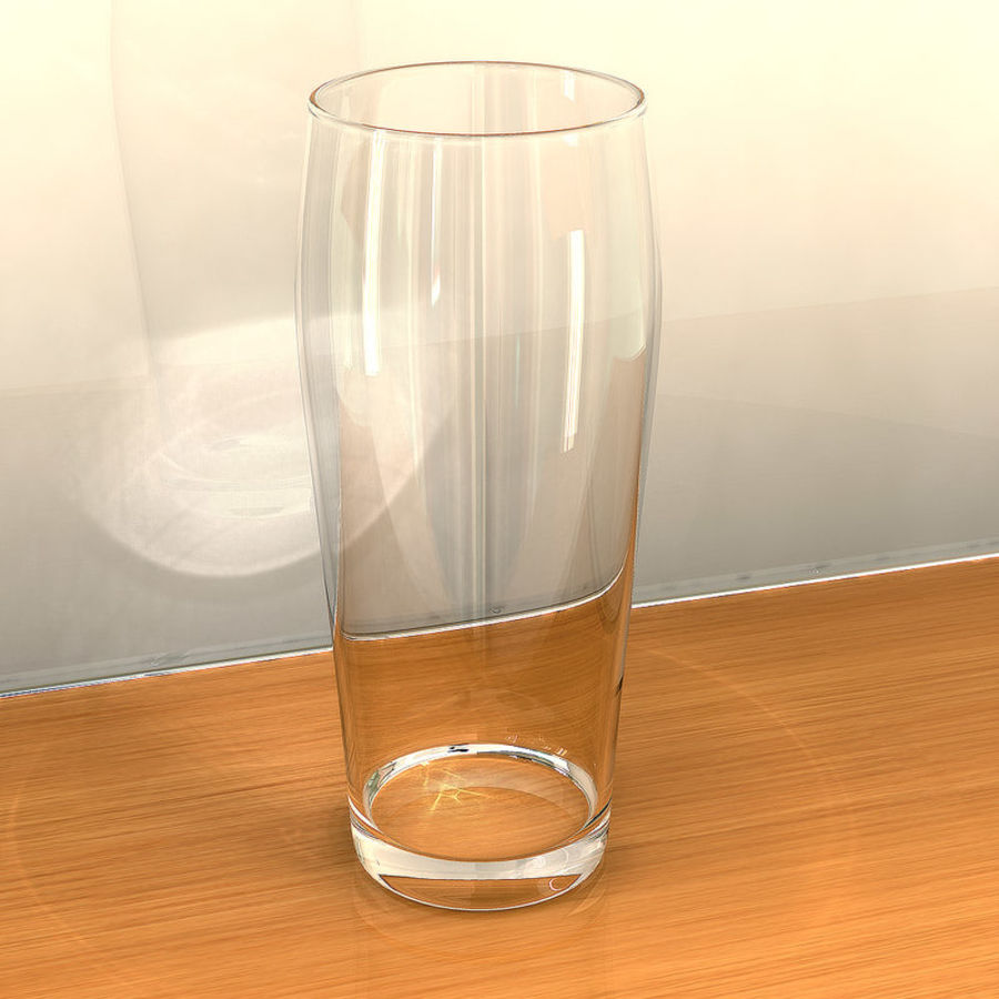 Beer Glass 2 royalty-free 3d model - Preview no. 7
