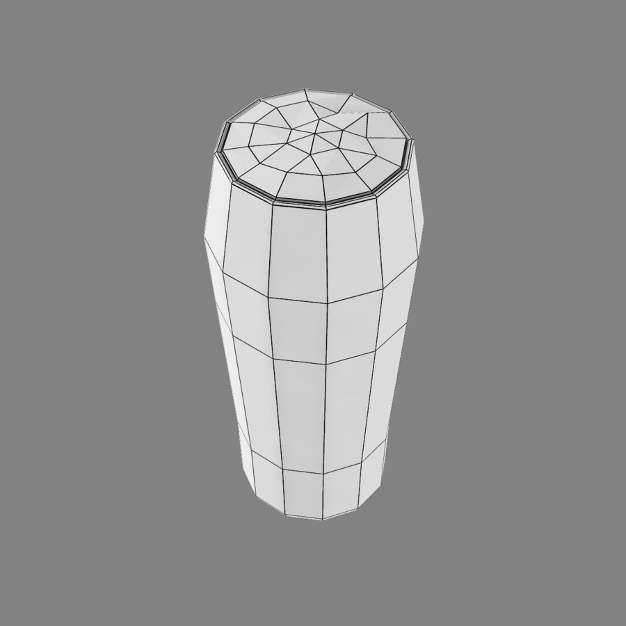 Beer Glass 2 royalty-free 3d model - Preview no. 11