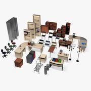 Office Furniture Set Volume 1 3d model