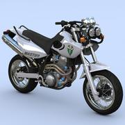 Mastiff Supermoto Street Bike 3d model