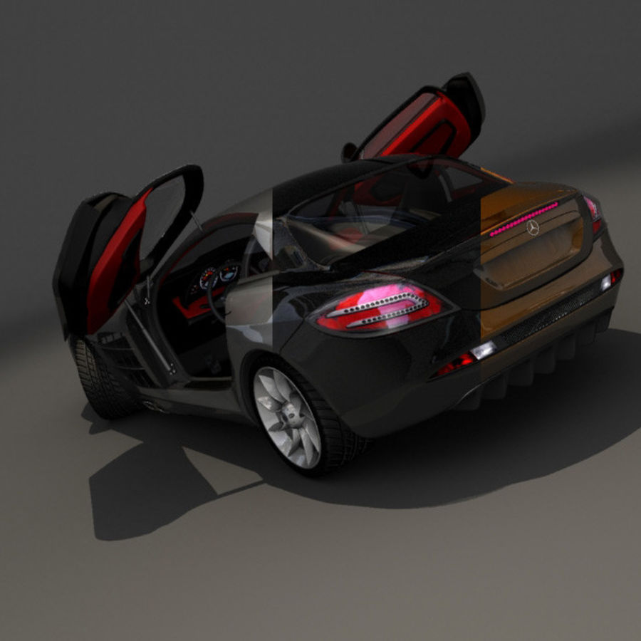 Mers SLR royalty-free 3d model - Preview no. 10