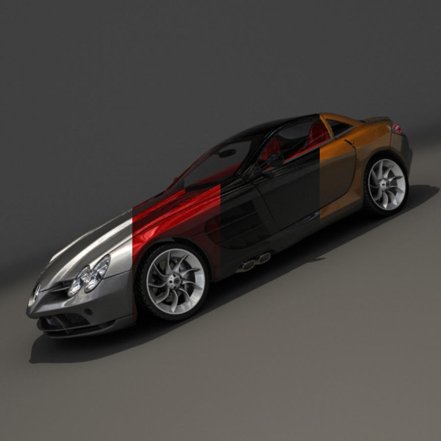 Mers SLR royalty-free 3d model - Preview no. 7