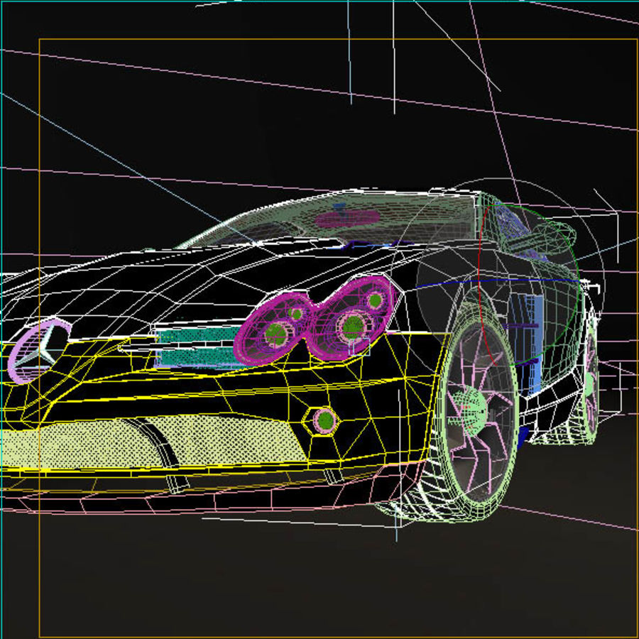 Mers SLR royalty-free 3d model - Preview no. 11