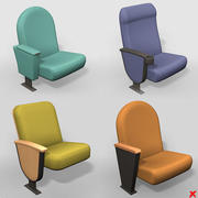 Chair cinema set001_max.ZIP 3d model