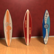 3D Surfboards Model 3d model