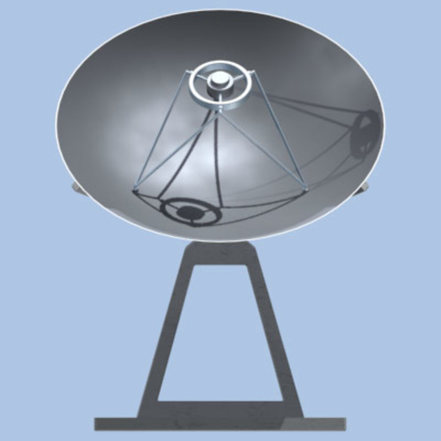 satellite_dish.zip royalty-free 3d model - Preview no. 7