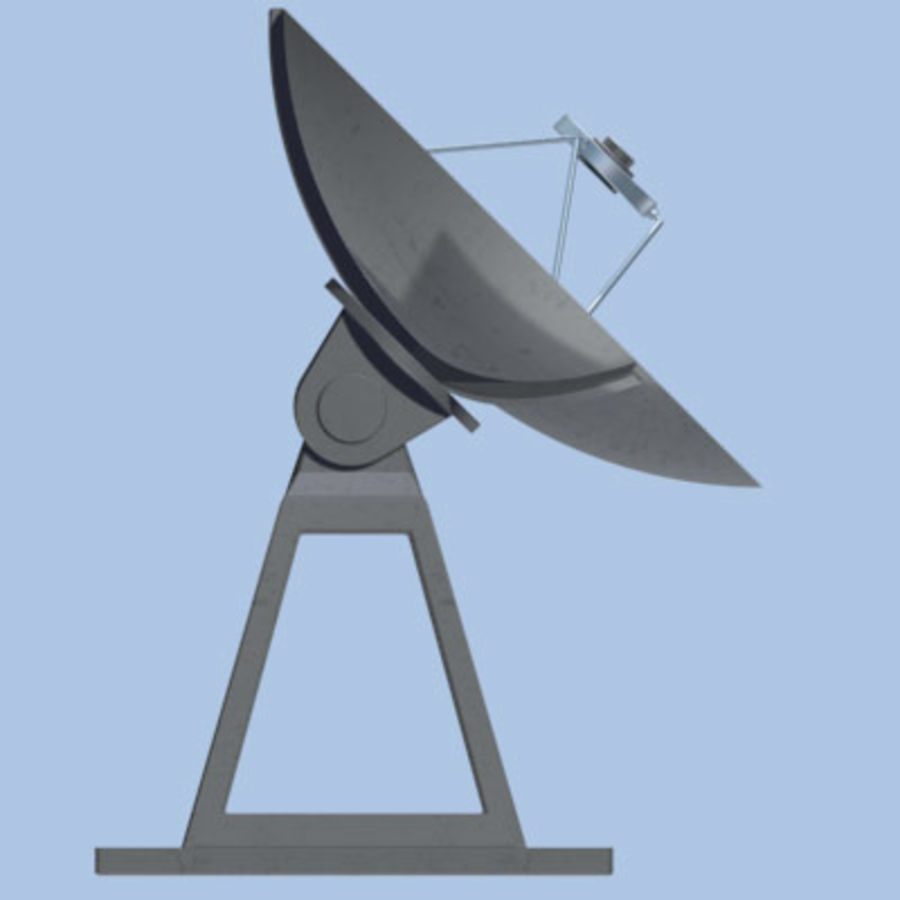 satellite_dish.zip royalty-free 3d model - Preview no. 10