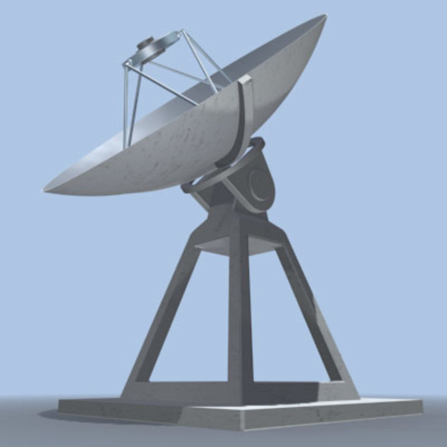 satellite_dish.zip royalty-free 3d model - Preview no. 4