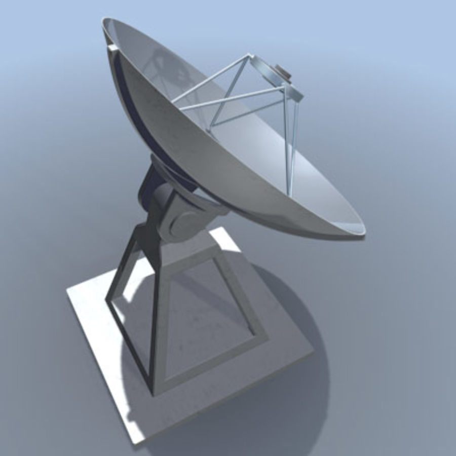 satellite_dish.zip royalty-free 3d model - Preview no. 1
