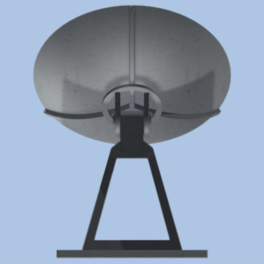 satellite_dish.zip royalty-free 3d model - Preview no. 9