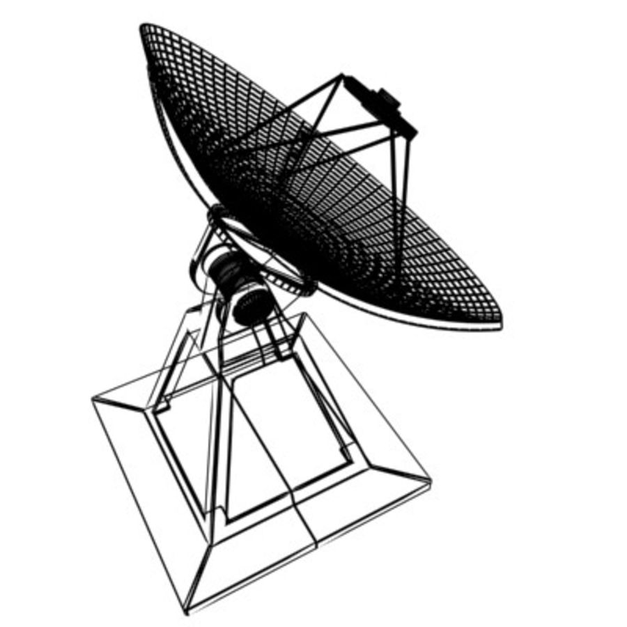 satellite_dish.zip royalty-free 3d model - Preview no. 3