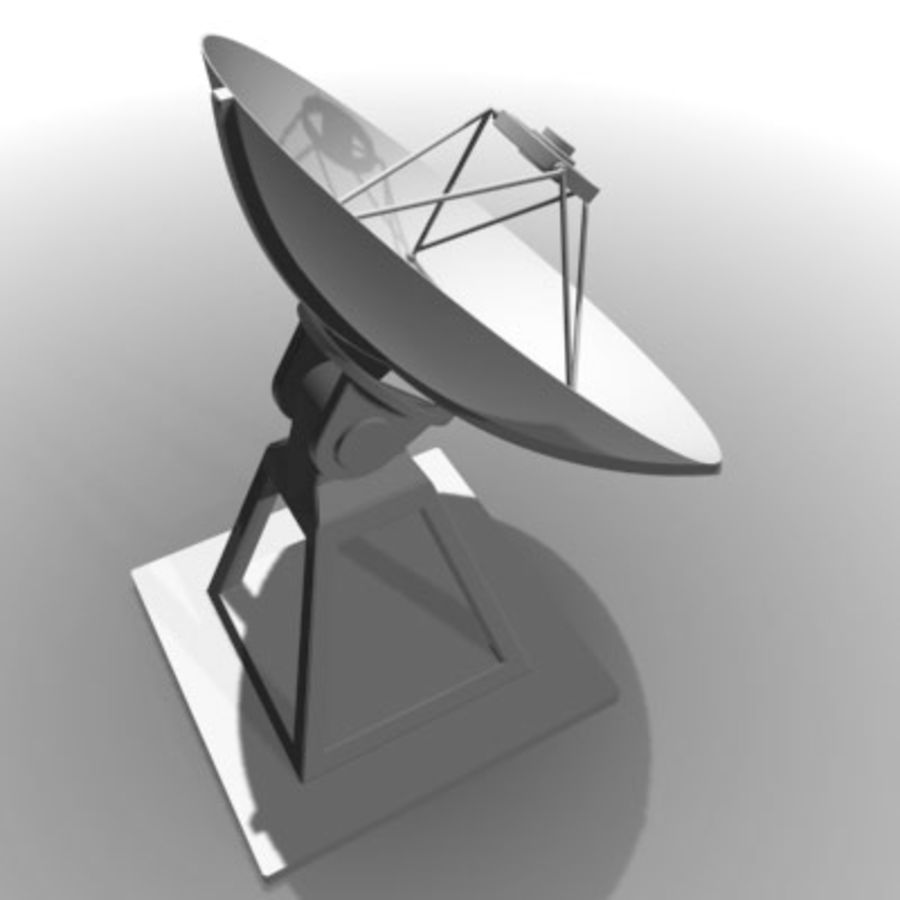 satellite_dish.zip royalty-free 3d model - Preview no. 2