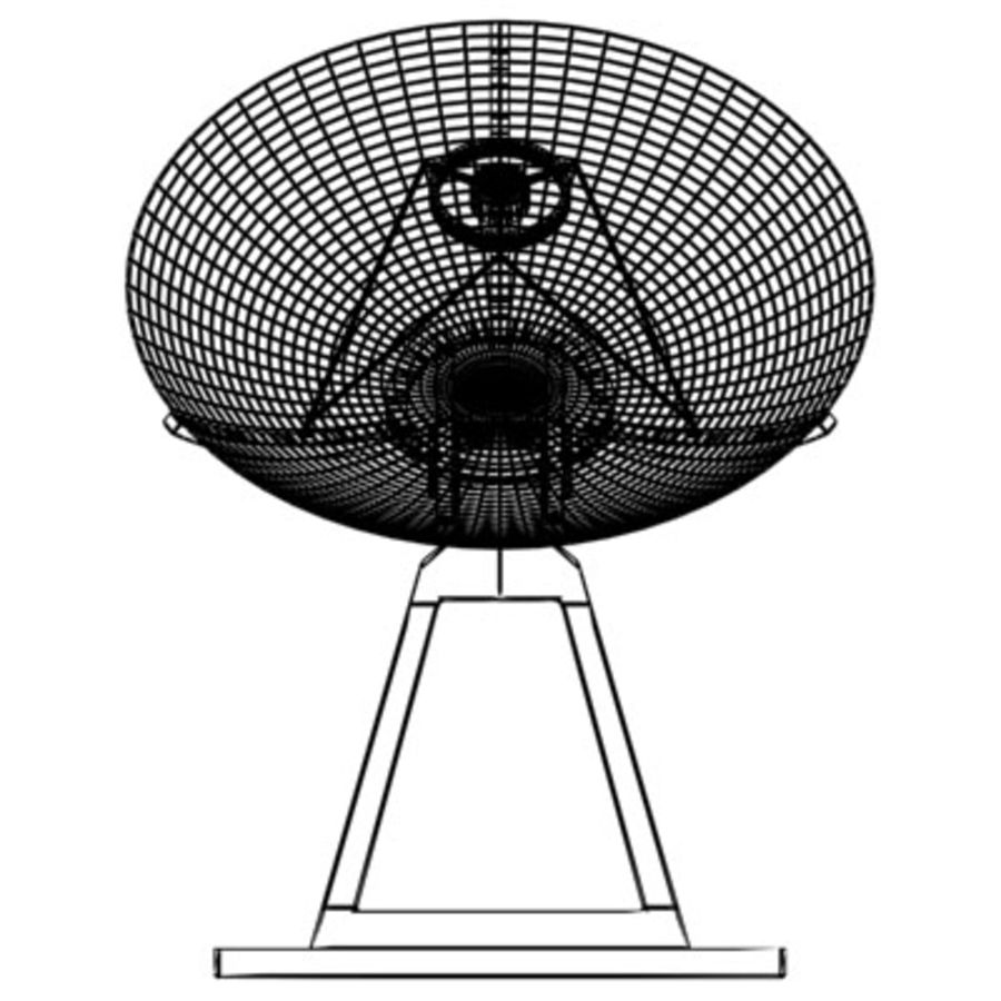 satellite_dish.zip royalty-free 3d model - Preview no. 8