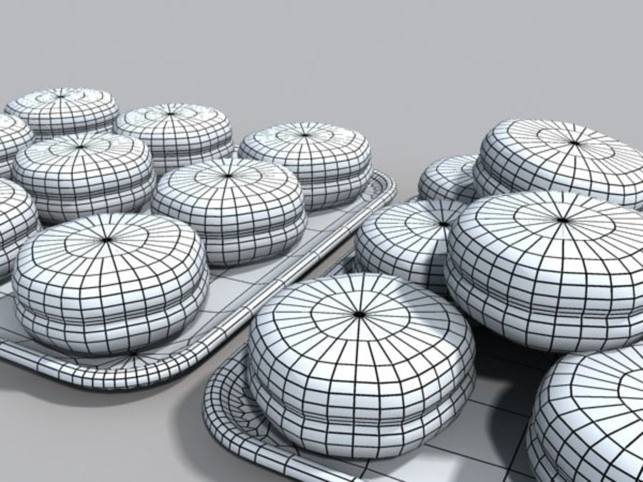 donuts.zip royalty-free 3d model - Preview no. 3