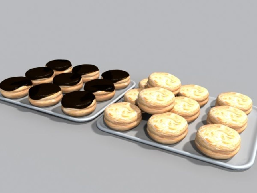 donuts.zip royalty-free 3d model - Preview no. 1