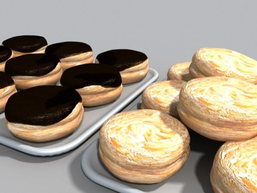 donuts.zip royalty-free 3d model - Preview no. 2