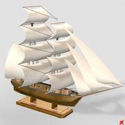 Ship model006_max.ZIP 3d model