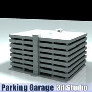 Parkeringsgarage 3d model