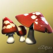 蘑菇2 3d model