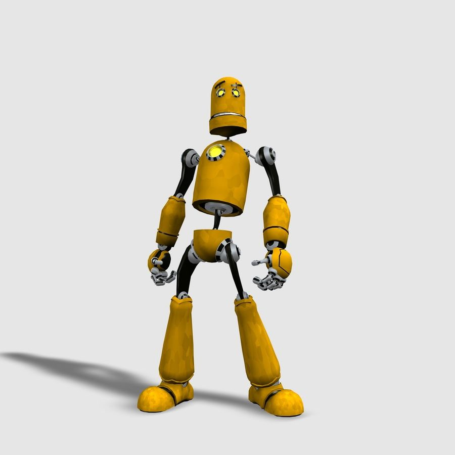 Robot! royalty-free 3d model - Preview no. 1