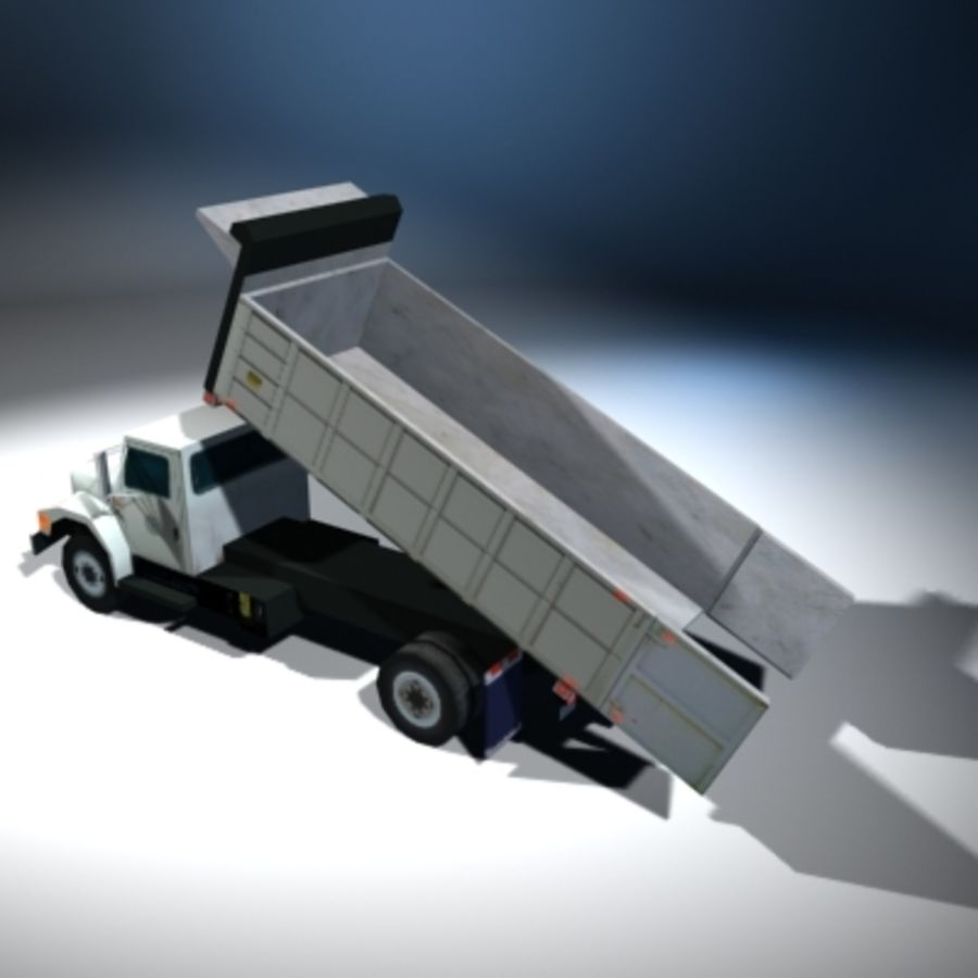 VS02 DumpTruck1 royalty-free 3d model - Preview no. 7
