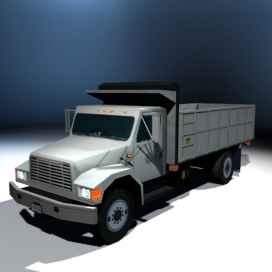 VS02 DumpTruck1 royalty-free 3d model - Preview no. 1