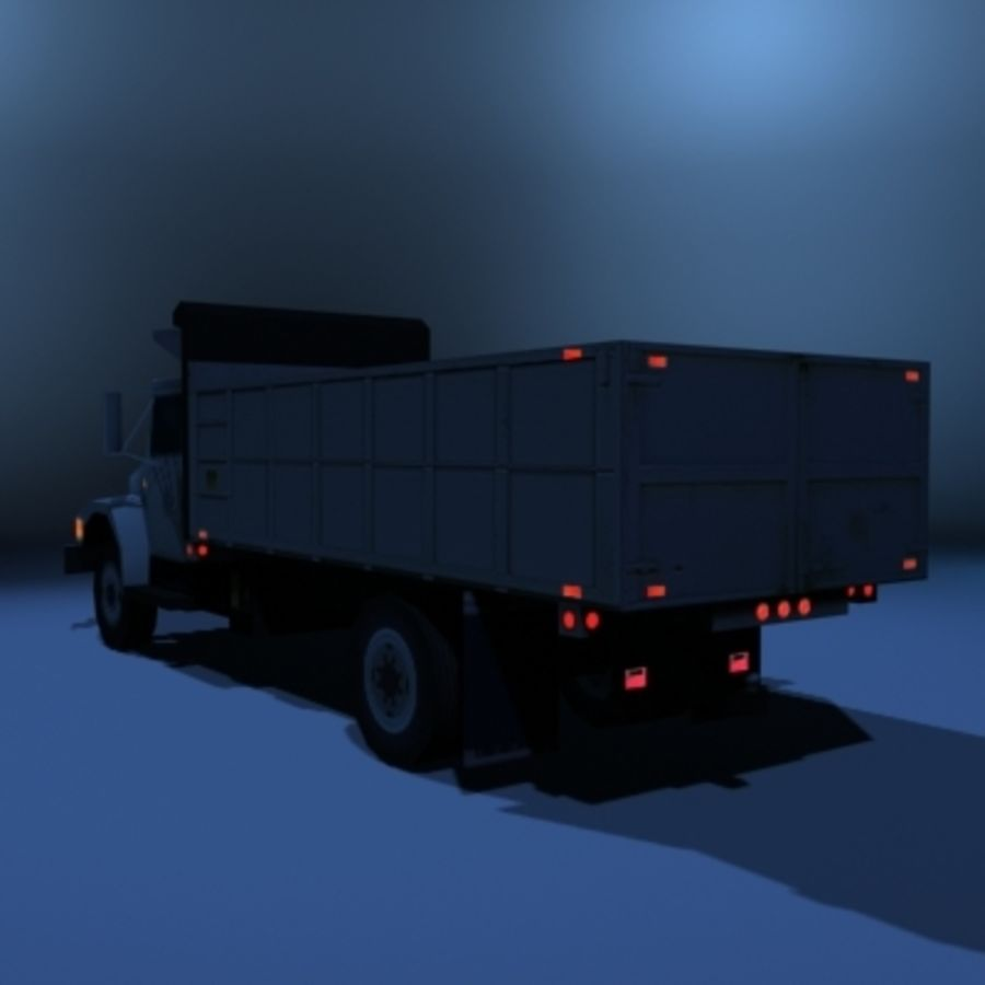 VS02 DumpTruck1 royalty-free 3d model - Preview no. 4