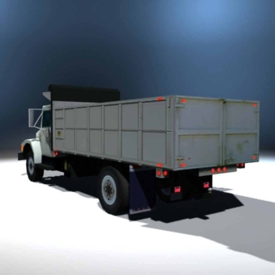 VS02 DumpTruck1 royalty-free 3d model - Preview no. 3