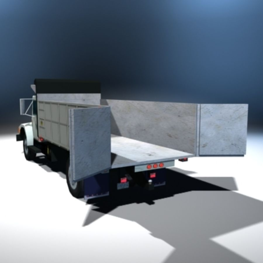 VS02 DumpTruck1 royalty-free 3d model - Preview no. 6