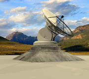 Sternwarte der Radioteleskop-Astronomie 3d model